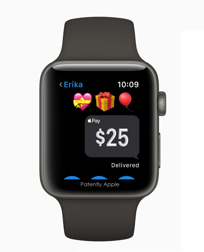 3 Watch Series 3 Apple Pay Messages birthday