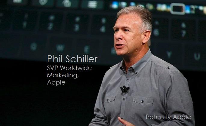 1 COVER APPLE'S PHIL SCHILLER