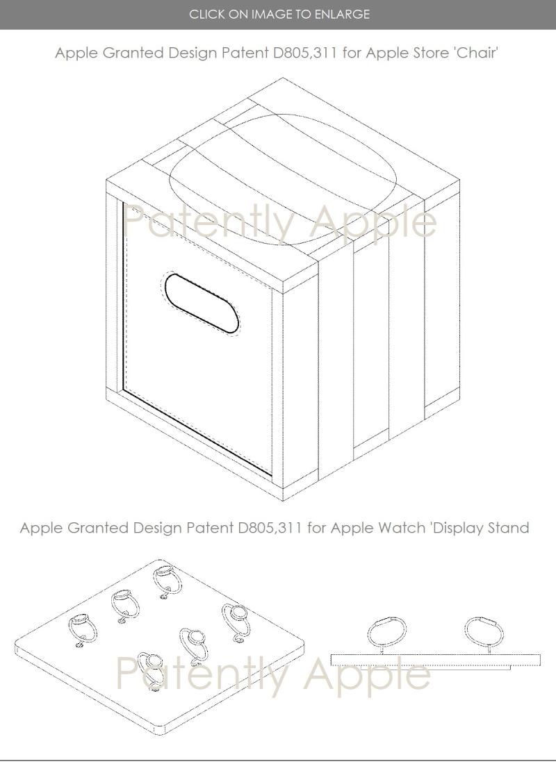 3 apple design patents dec 19  2017