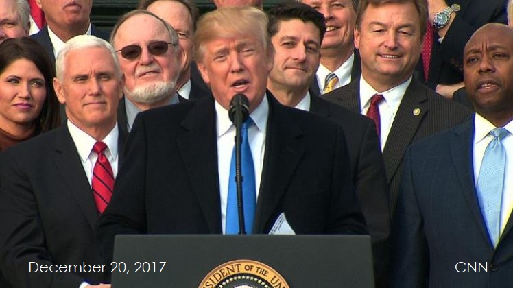2 tax bill speech dec 20  2017