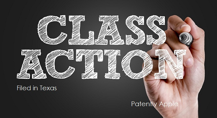 1 class action report - Filed in Texas