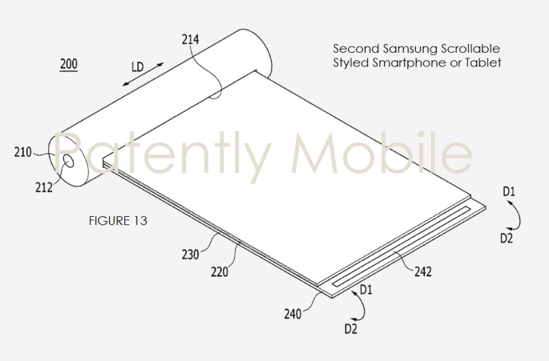 5 samsung scrollable smartphone