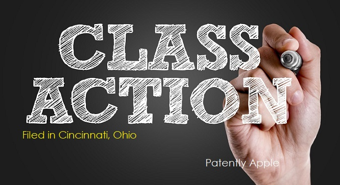 1  class action report - Filed in Cincinnati  Ohio