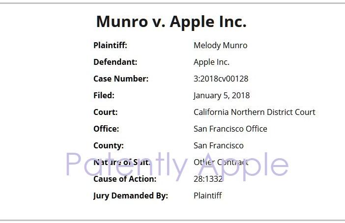 2 Munro v Apple  San Francisco