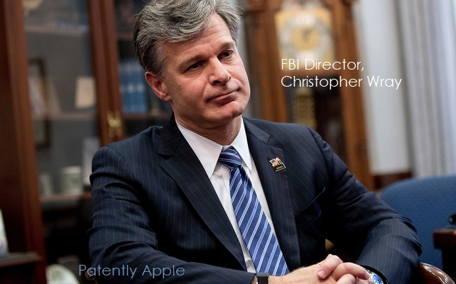 1 X cover FBI Christopher Wray