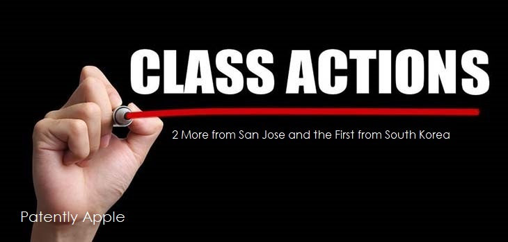 1  cover class actions - South Korea  San Jose 2