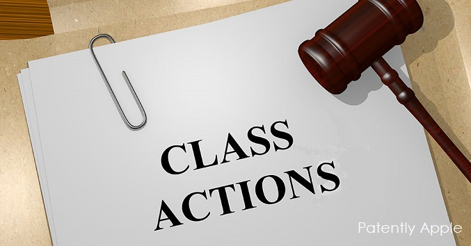 1 COVER CLASS ACTIONS - plural  against Apple