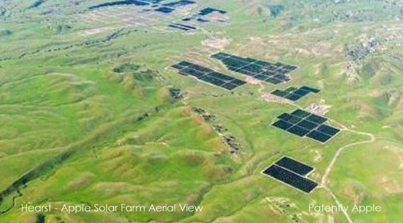 2 AERIAL OF SOLAR PANELS ON HEARST-APPLE SOLAR FARM