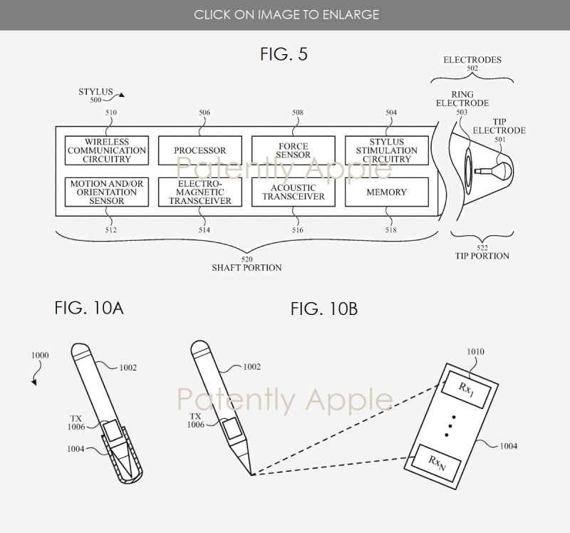 3 Apple patent figs  5  10a and 10b