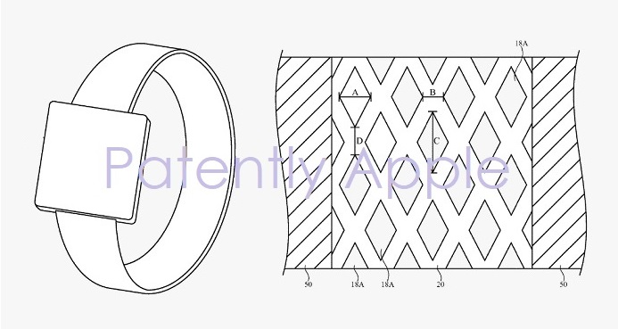 photo image Apple Granted 46 Patents Today covering Structured Fabrics as used in the HomePod and an iPhone Dock Controlled by…