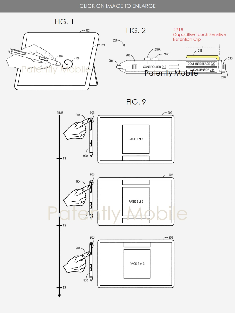 2 XX Microsoft Stylus patent granted