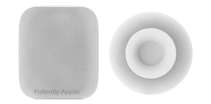 1 Cover HomePod design patents issued in Hong Kong Feb 15  2018
