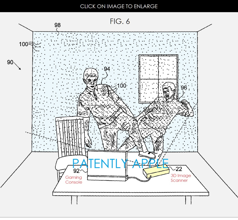 3 DOT PROJECTOR PATENT IMAGE