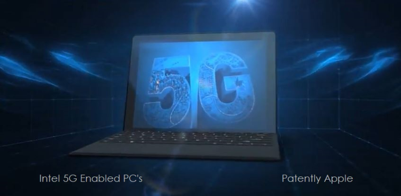 1 X cover Intel 5G connectivity for PC's