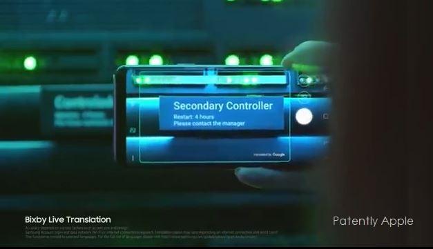 1 X Galaxy S9 - AR + Bixby = Live Translation