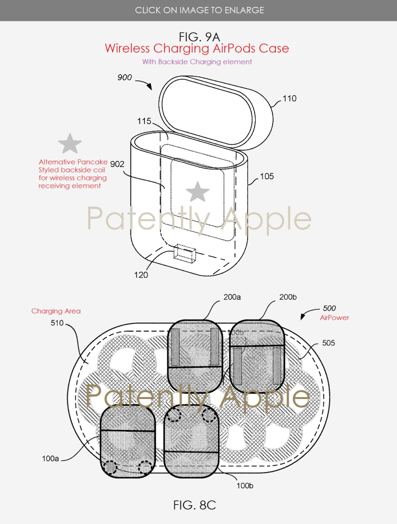 Apples Patent Covering Their Wireless Charging Airpods Case For Ipod Earbuds Wiring Diagram 4 Alternative