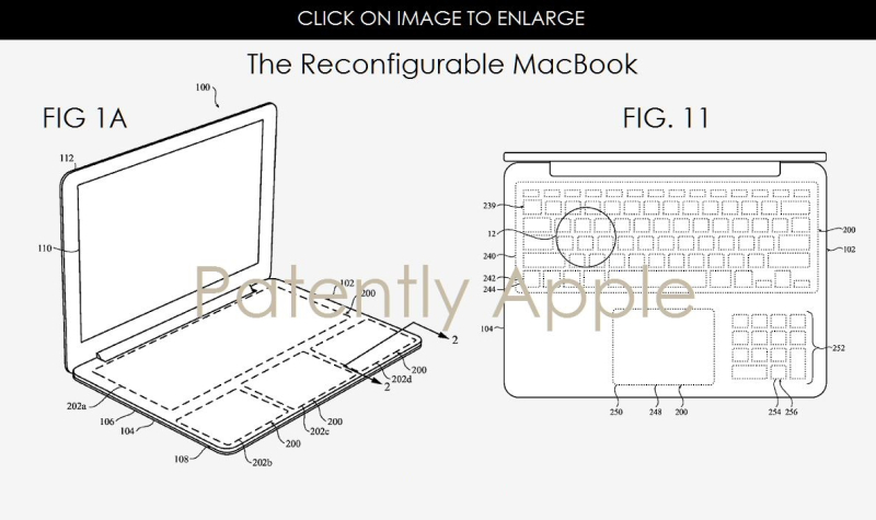 4 other wide trackpad concepts from Apple