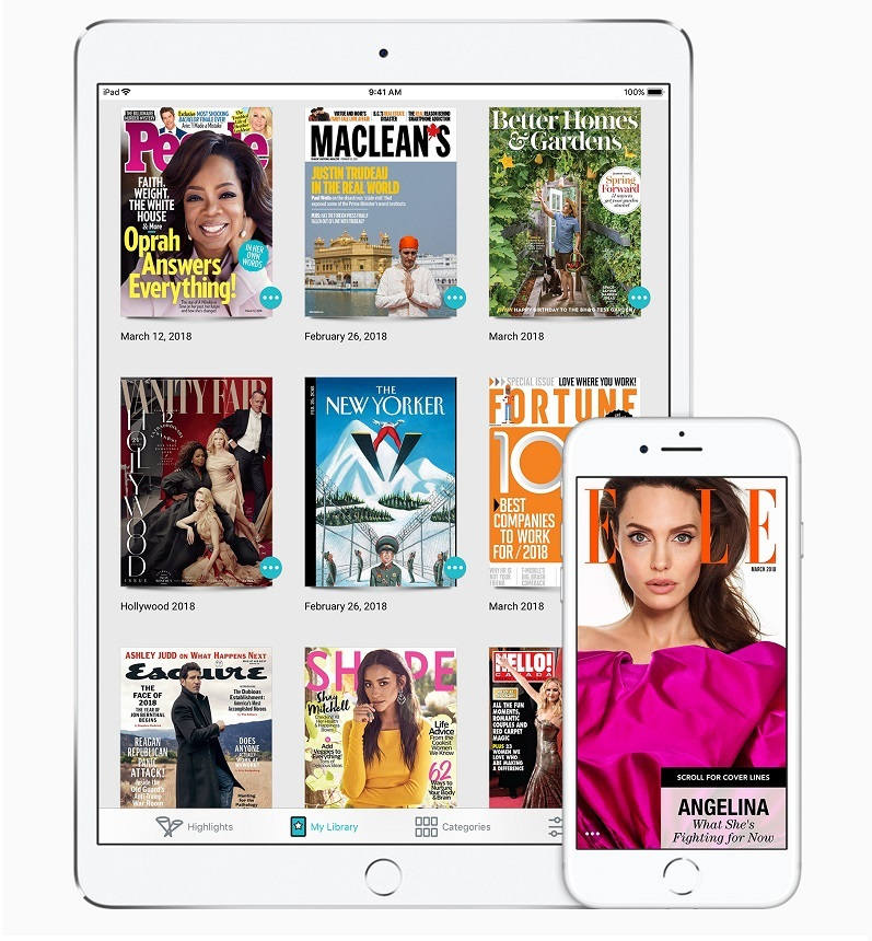 2 Apple acquires Texture magazine