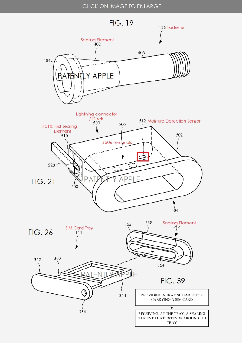 4 - apple patent about water resistant coatings