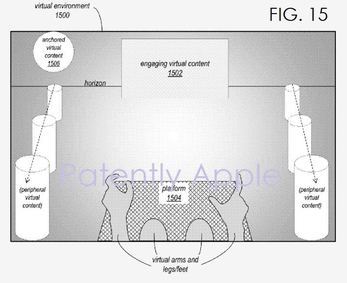 9 apple hmd patent - establishing a horizon
