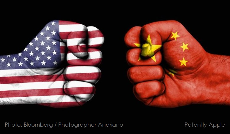 1 X cover TRADE WAR WITH CHINA
