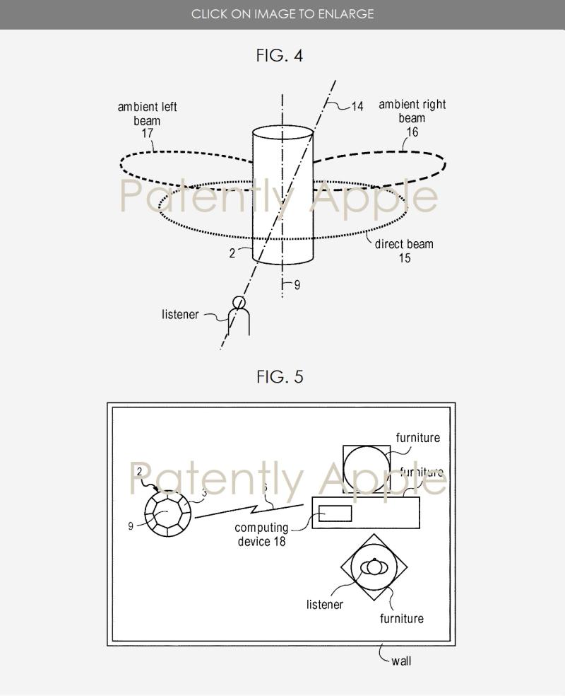 6 apple beamforming patent fig. 5