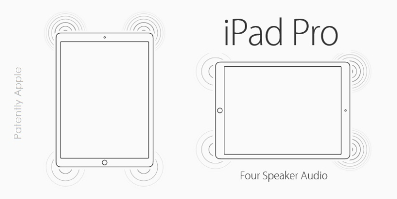 2 cover ipad pro quad speakers