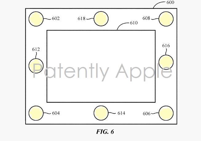 3 X -- 8 SPEAKER IPAD PATENT FIG. 6