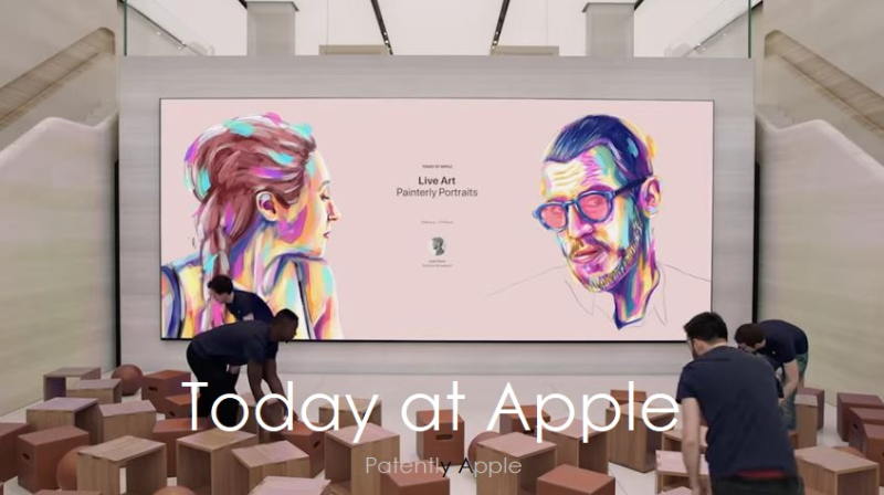 1 X cover Today at Apple
