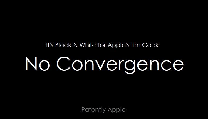 1 Cover - NO CONVERGENCE