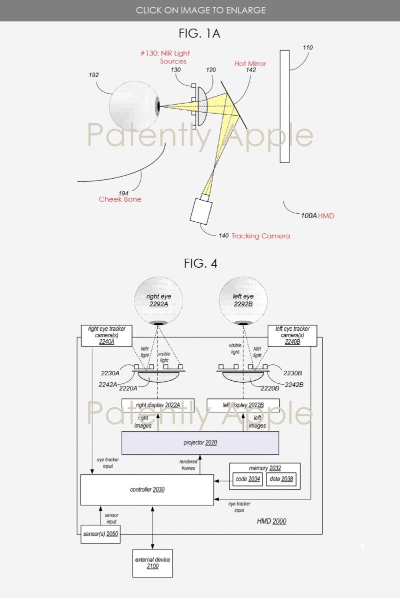 3 Apple's future HMD FIGS. 1A & 4