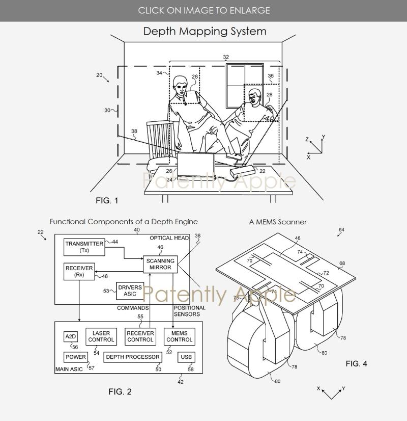 3 depth engine patent