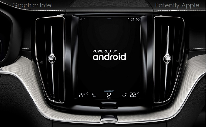 1 X COVER INTEL ANDROID INFOTAINMENT PLATFORM