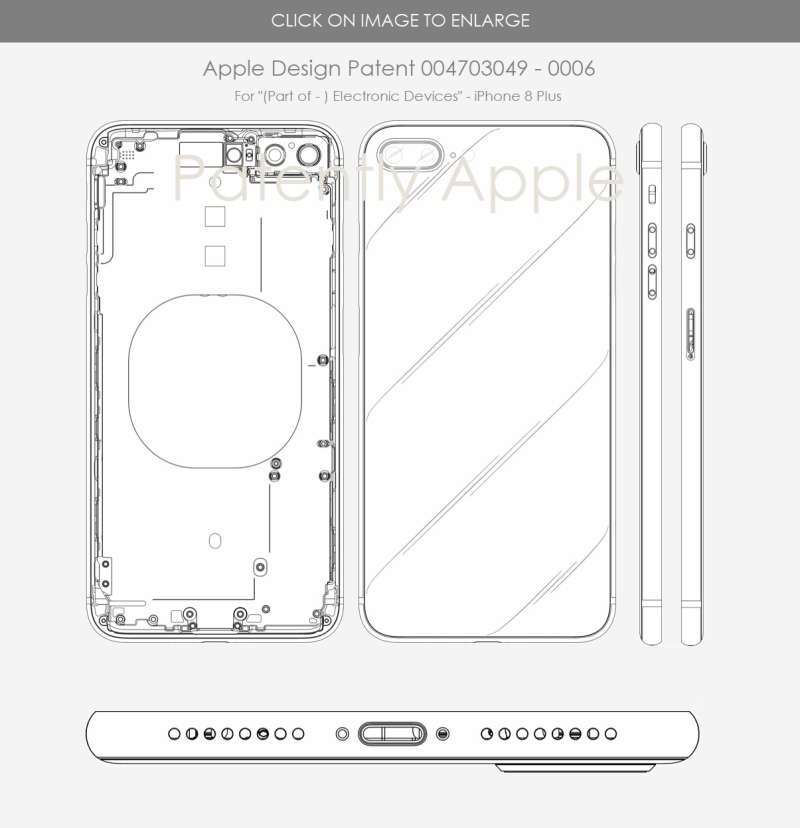 2 iPhone 8 Plus design patent - Europe Germany - patently apple report may 13  2018