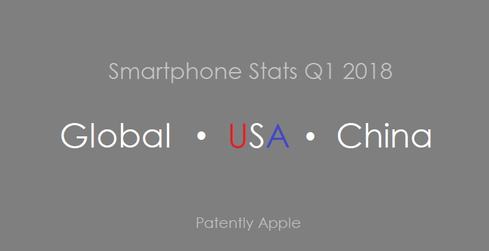 1 Cover Global  US & China SMARTPHONE STATS Q1 2018 COUNTERPOINT