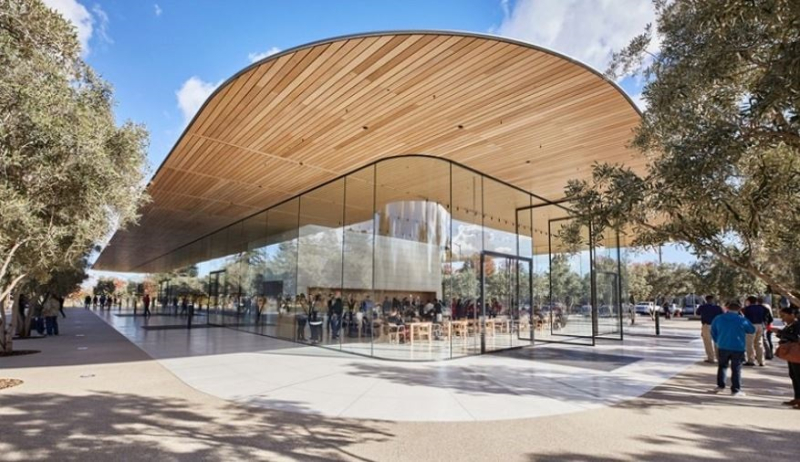 1 X COVER apple park visitor center