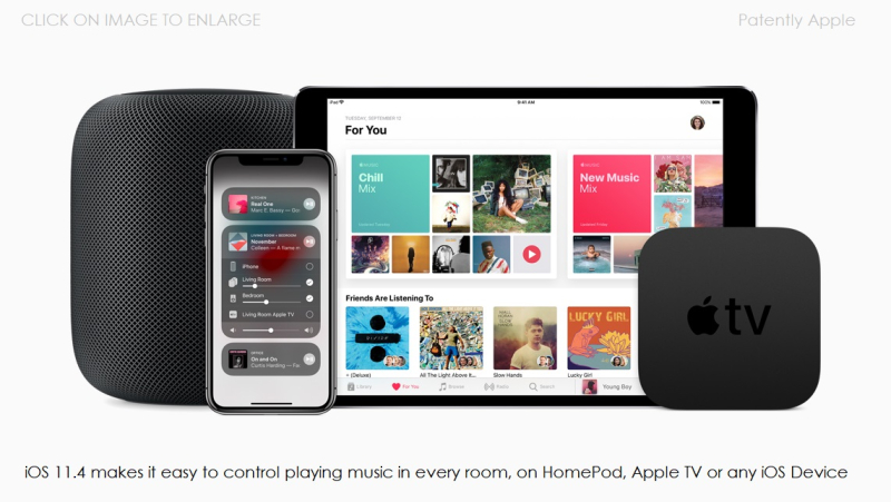 2 Apple iOS 11.4 supports new HomePod music control