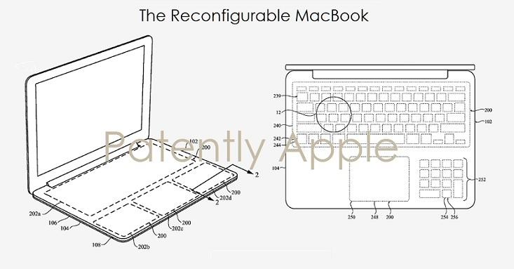 4 X Apple hybrid notebook