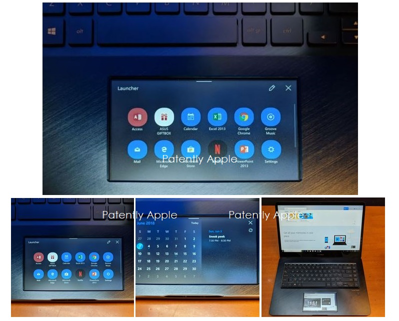 5 x  Zenbook PRO with 5.5 inch display