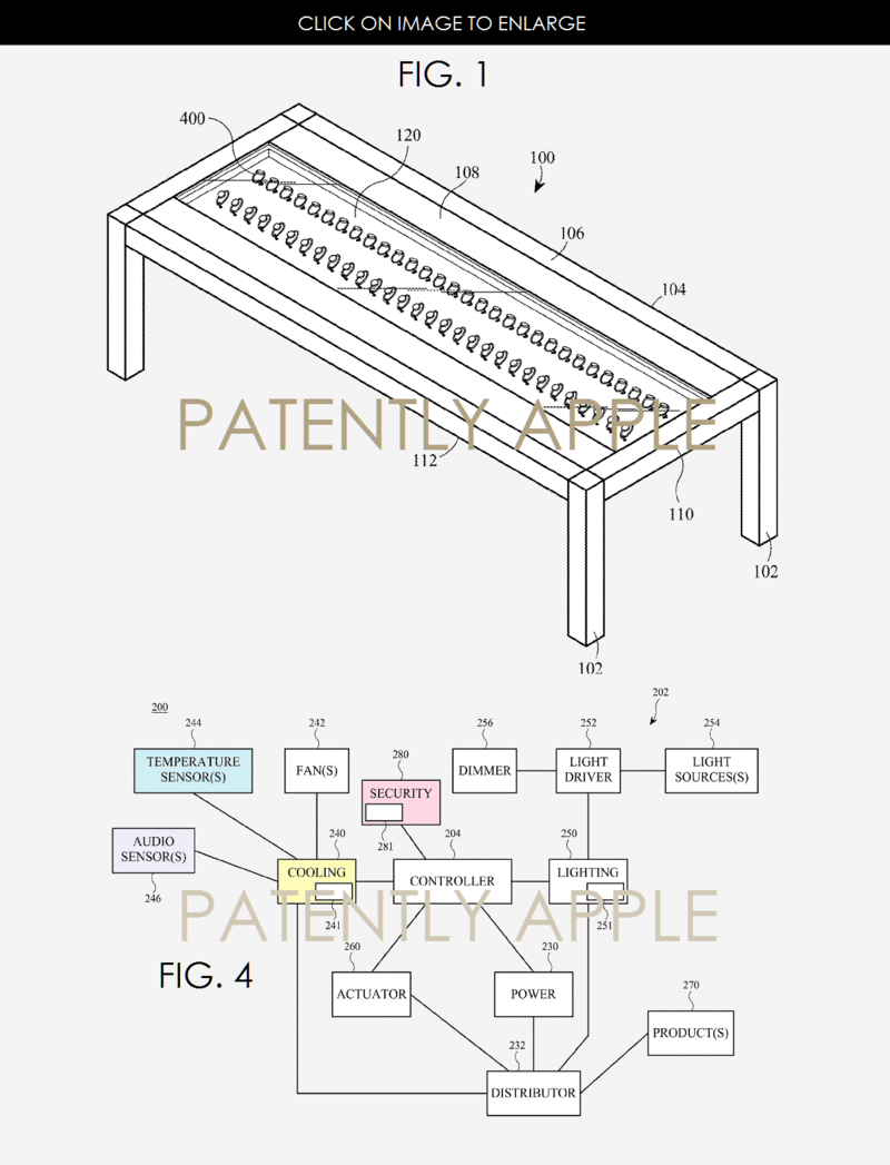 2 Apple watch table features wins patent
