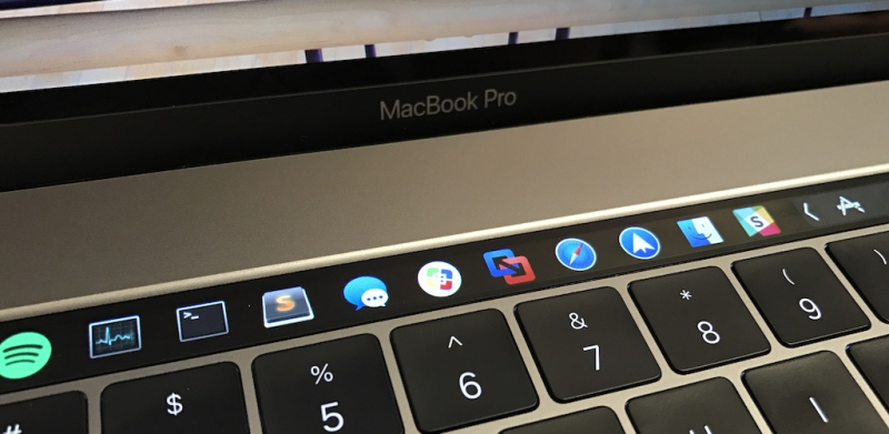 1 cover touch bar MacBook Pro