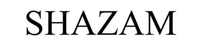 2 X shazam text only
