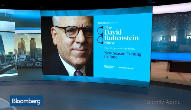 2 David Rubinstein show interview with cook in June