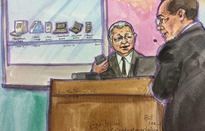 1 x x Samsung apple court case finalized