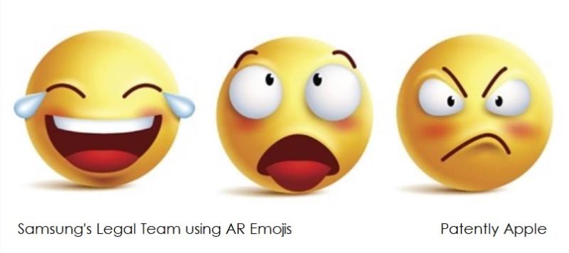 1 cover samsung legal team via AR Emojis