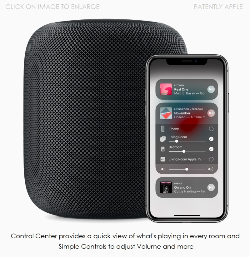 4 - iOS 11.4 HomePod iPhone x lockup front