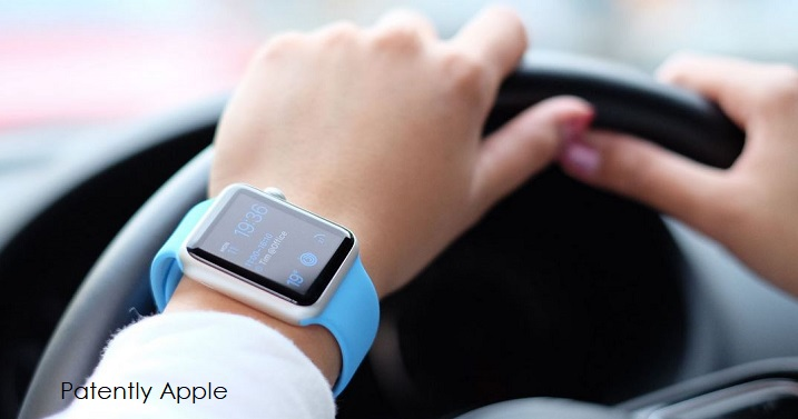 1 X cover apple watch while driving