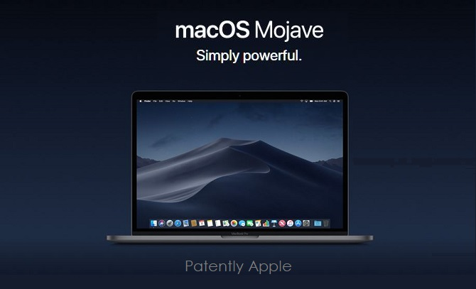 1 X cover macOS Mojave