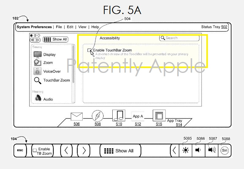 2 APPLE patent fig 5A MAY 3  2018 - Patently Apple