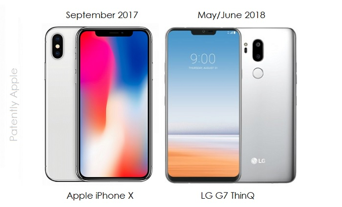1 Cover iphone x - lg ThinQ  notch designs